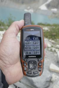 Glacier NP- arrivéepiste Grinnell Glacier