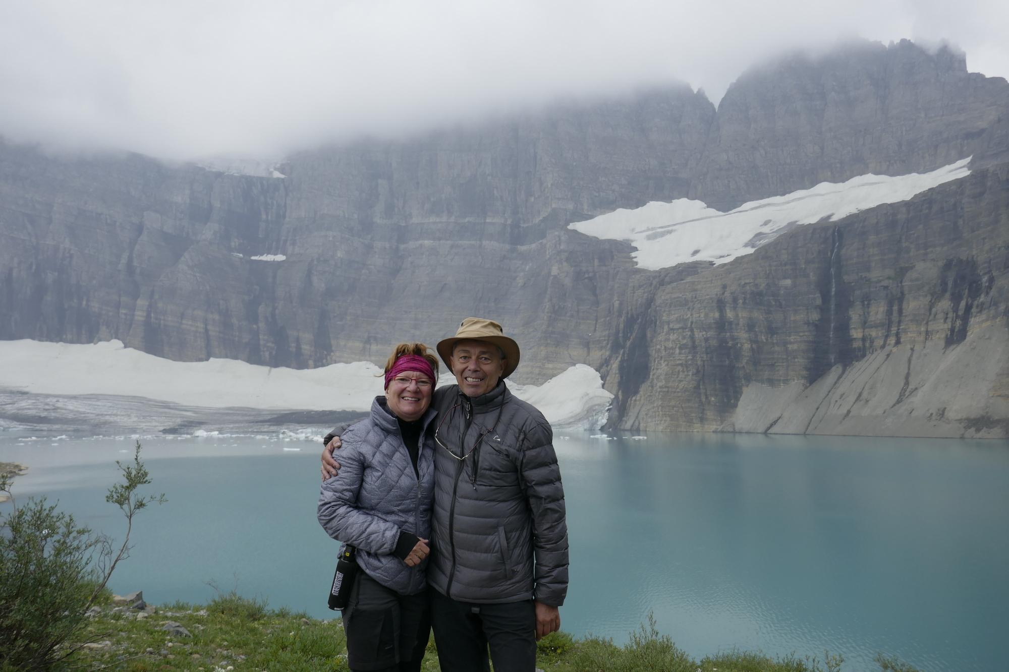 Glacier NP - nous 2 au Grinnel Glacier