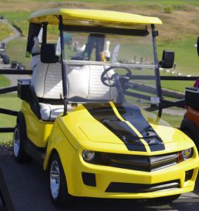 Camaro pour le golf
