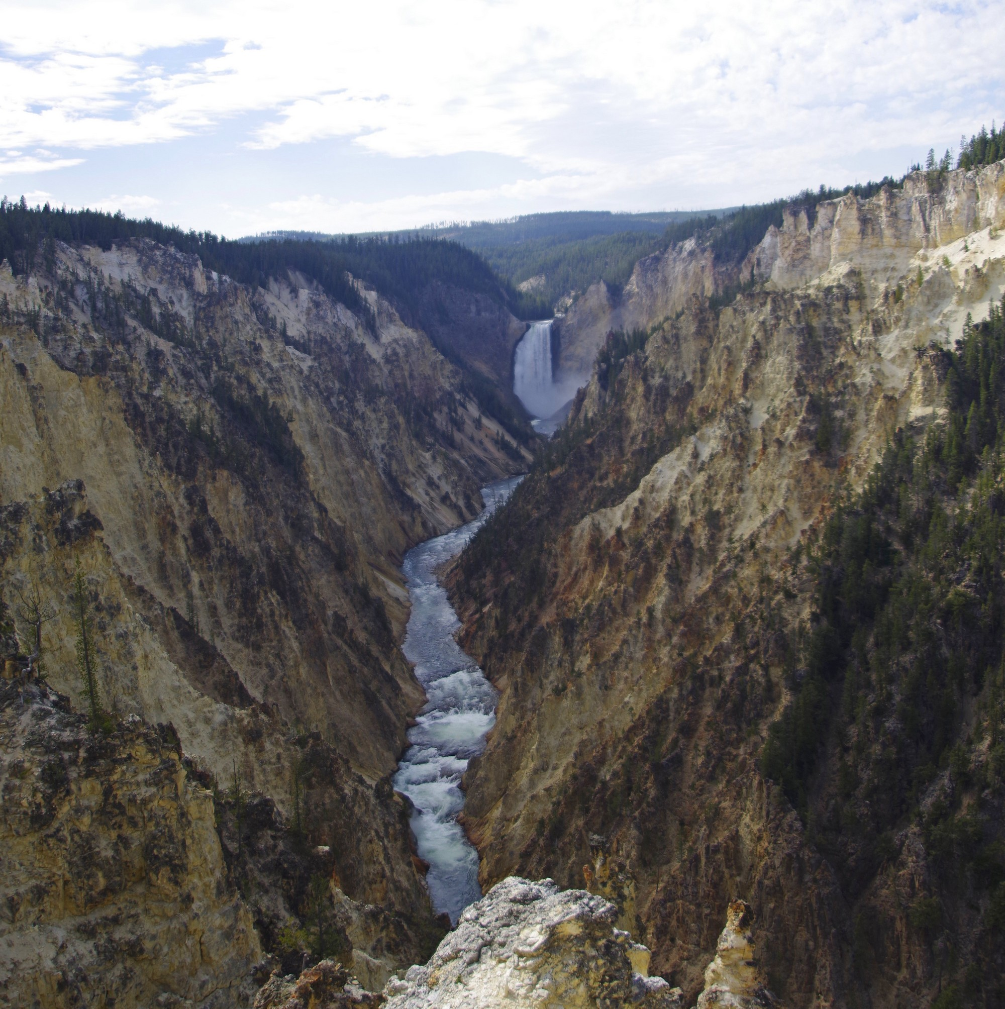 Chute Canyon Yellowstone 2