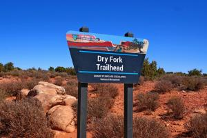 Dry Fork ou  se trouve les Slot Canyon