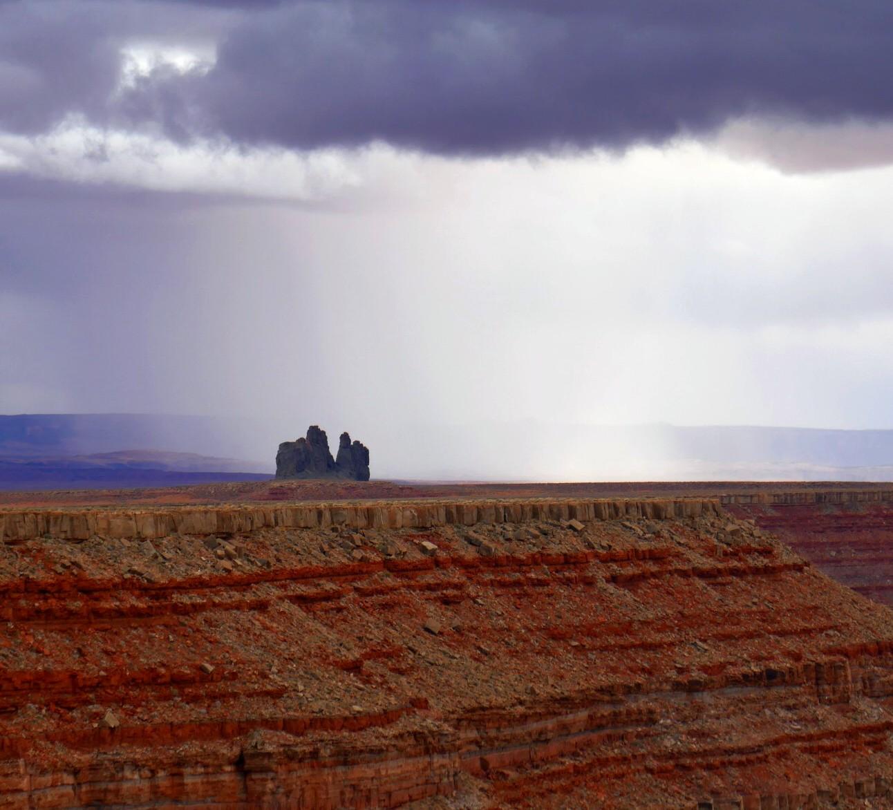 Gooseneck , la pluie s'aproche