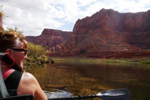 Kayak Riv Colorado, grandiose
