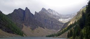 Un des glacier au Lac Louise