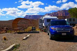 Lee's Ferry, on aime les campings dans un cadre enchanteur