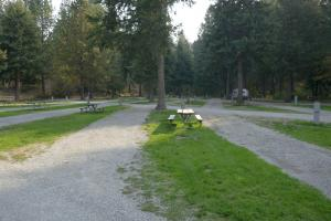 Liberty Lake , seul au camping