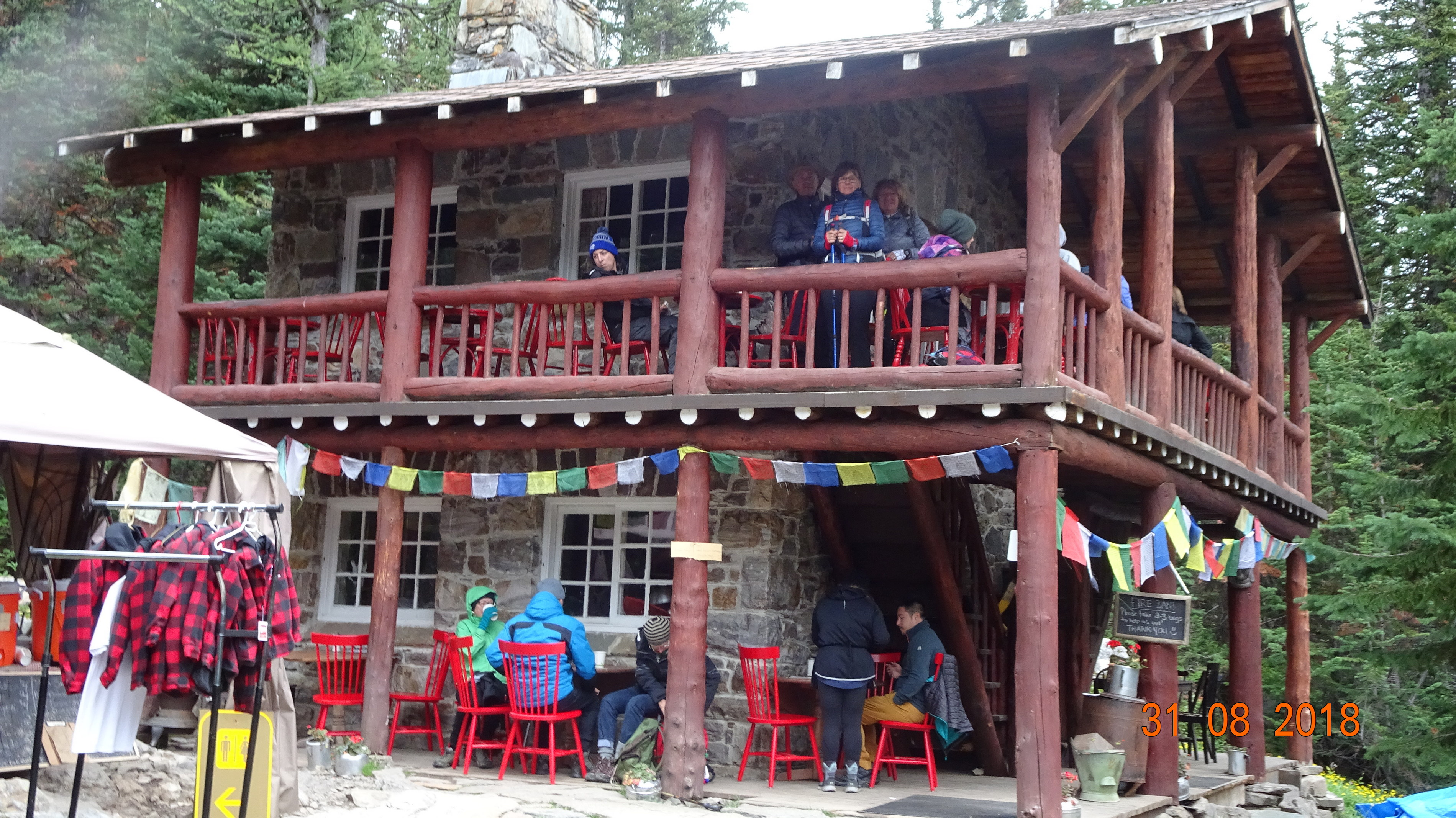 PLain Six Glacier Tea House