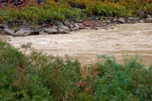 Rivière Colorado couleur bouette