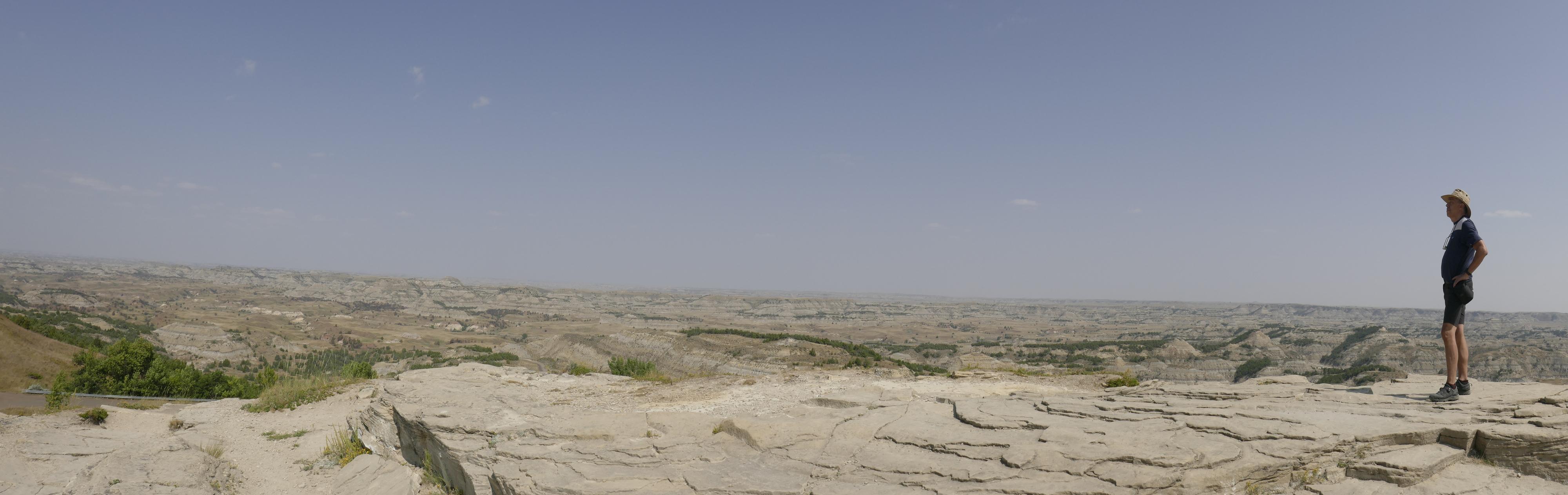 Roosevelt NP- Vue sur le Badlands