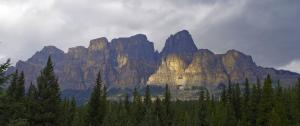 The Castle mountain