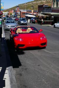 Une Ferrari à Park City