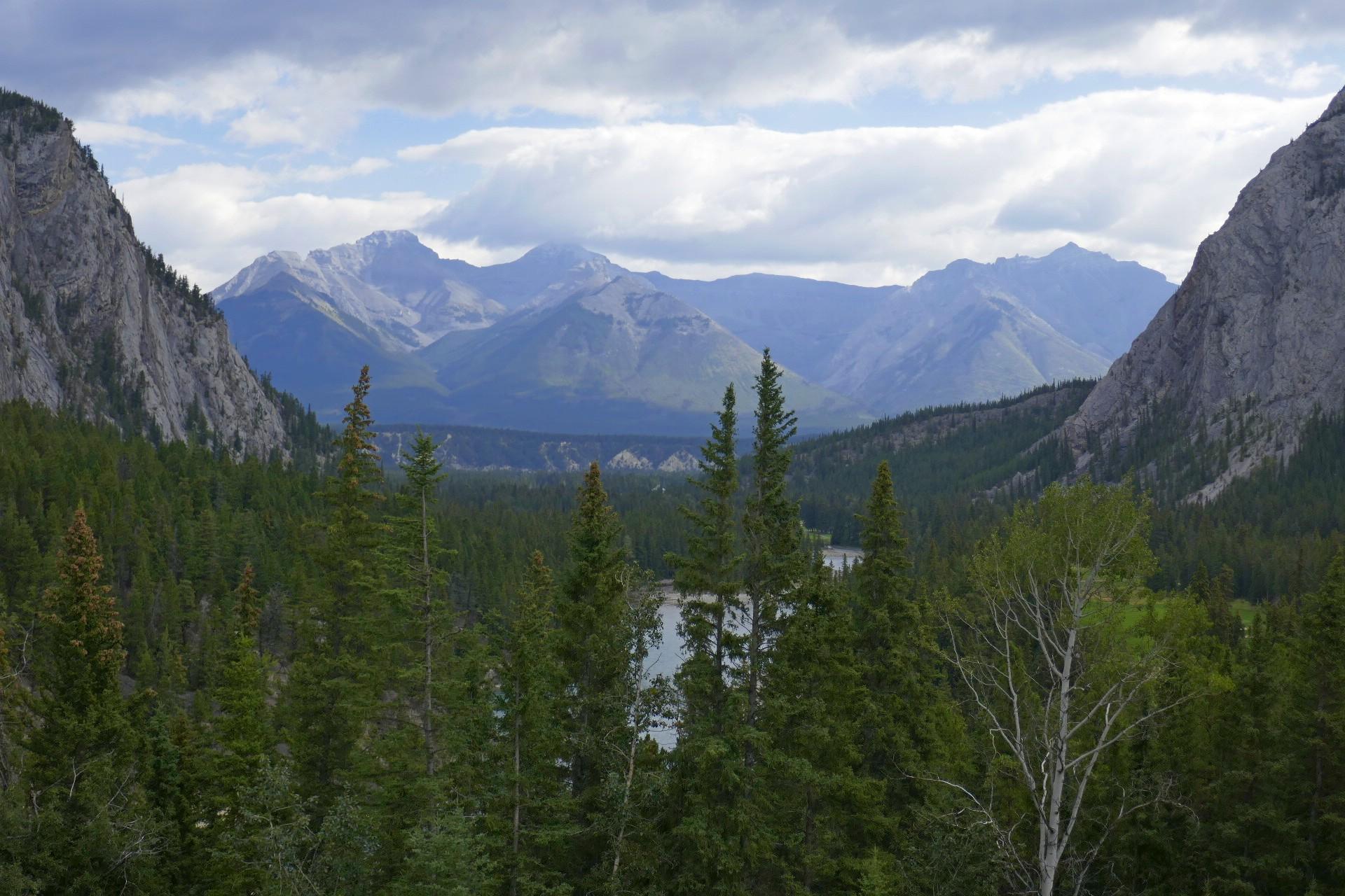 Vue du Banff Fairmont