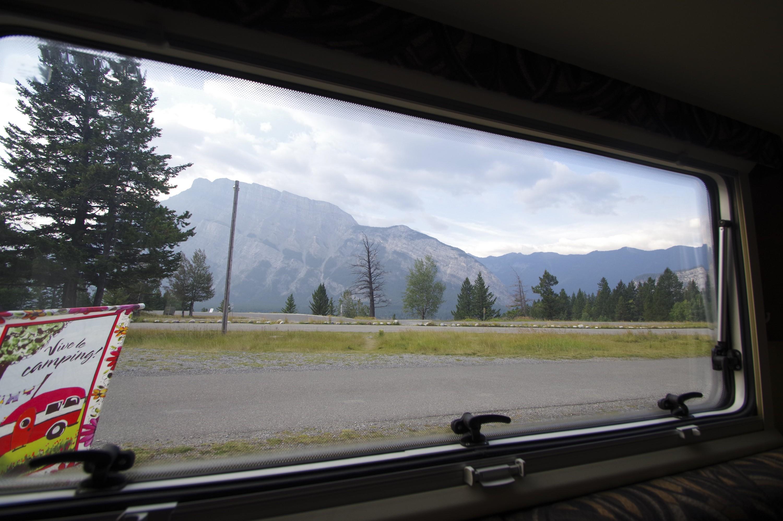 Vue de la Lance 1575 à Banff