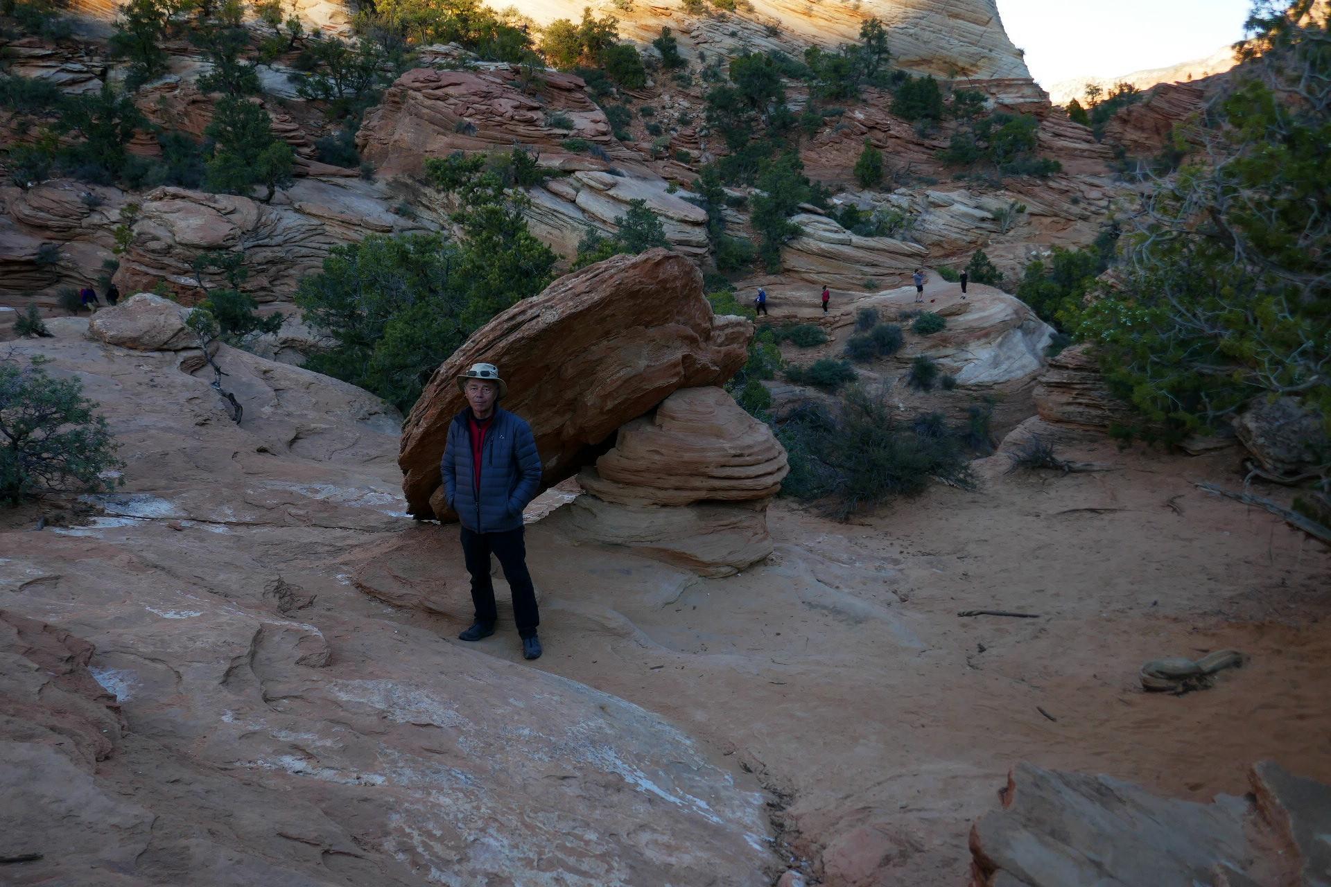 Zion, une huitre en pierre