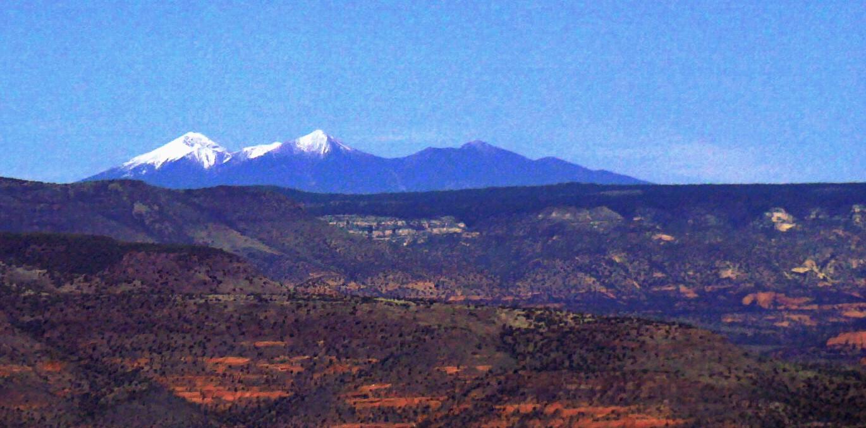 Flagstff az de la neige en octobre