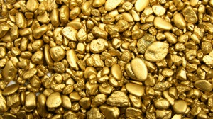 Gold stones bullion pebbles 72319 300x168