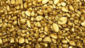 Gold stones bullion pebbles 72319 300x168