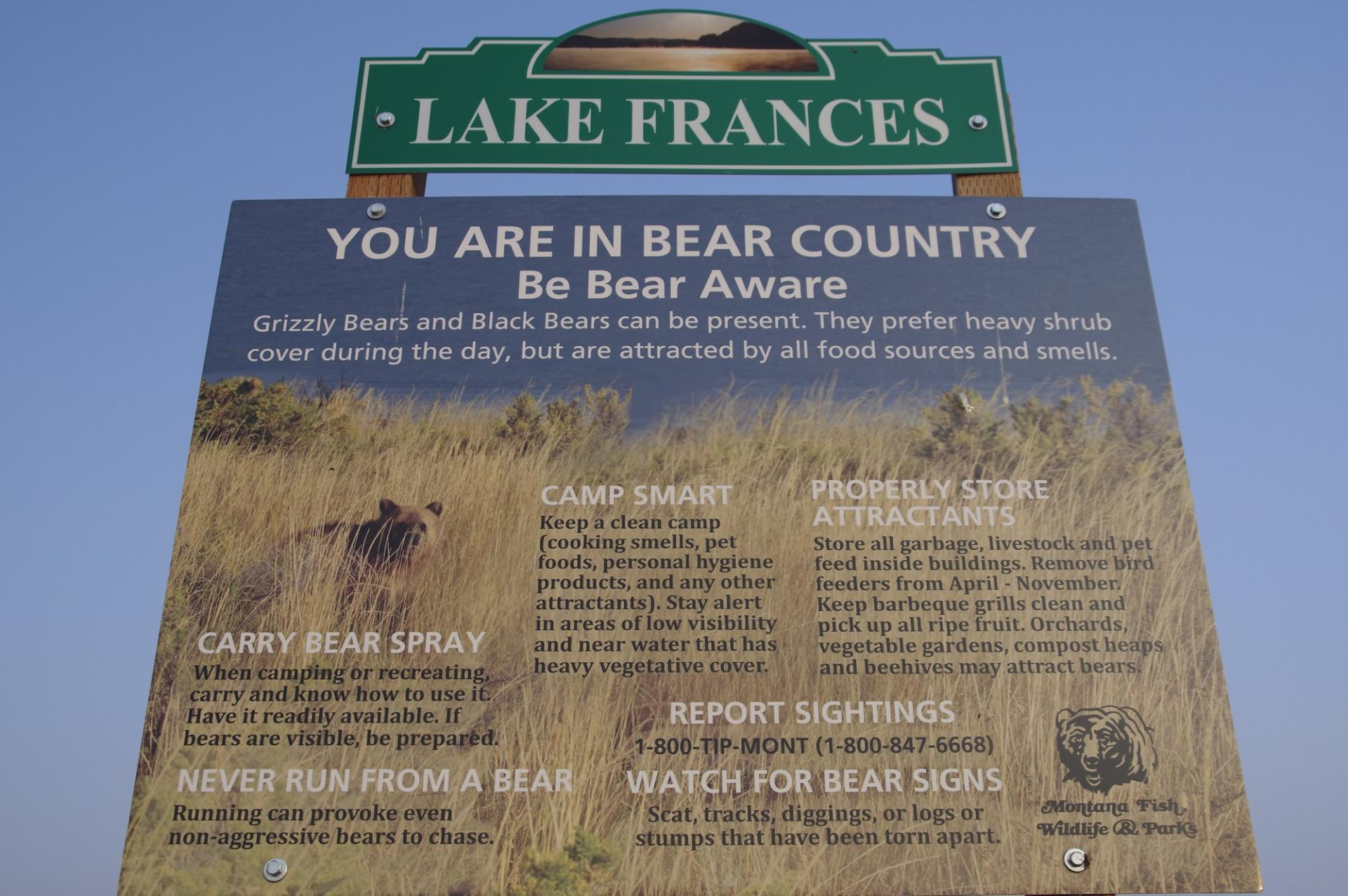 Le pays des ours