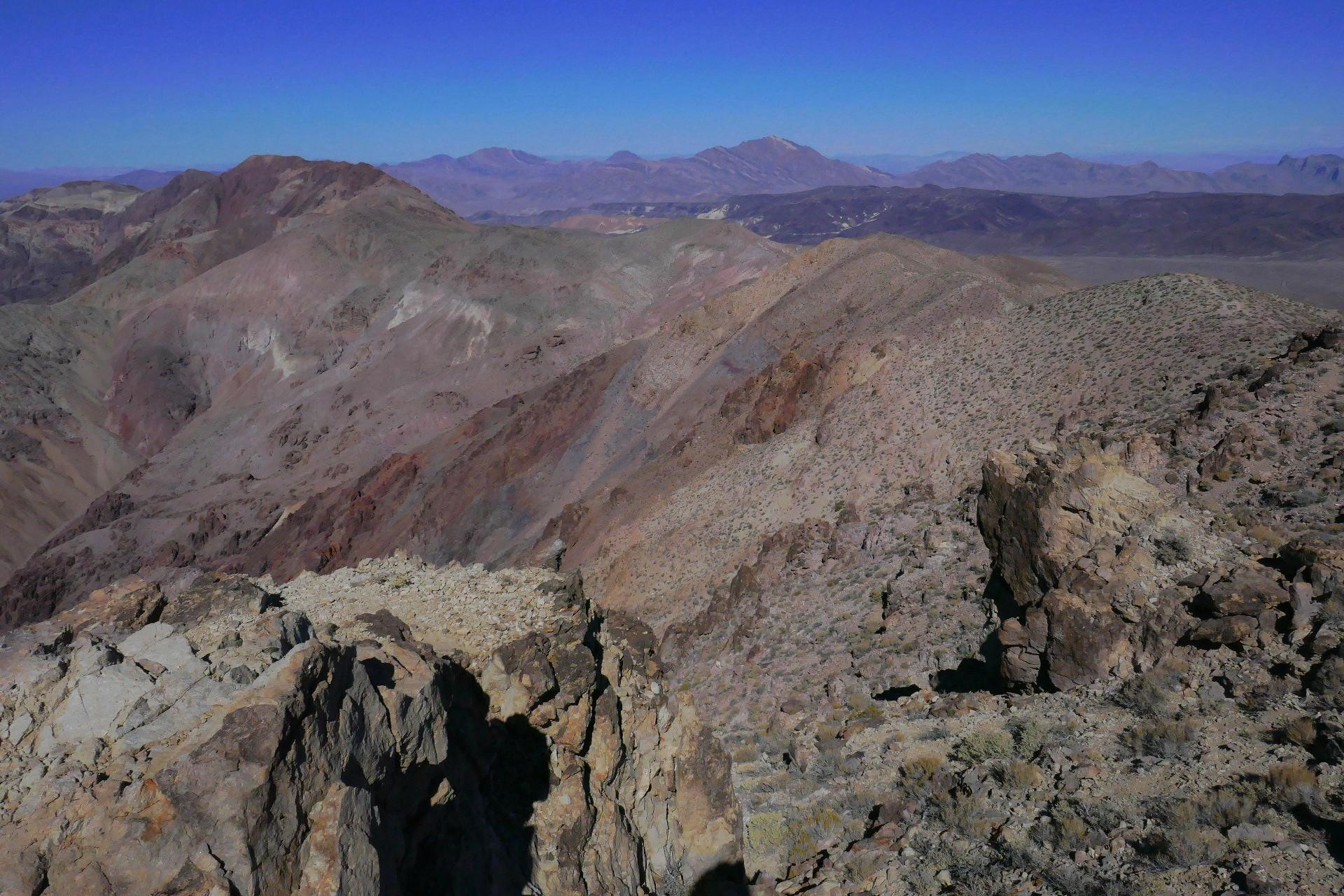Notre randonnee de sommet en sommet sur 5 km