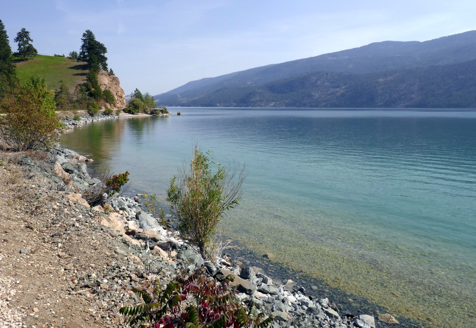 Piste okanagan rail trail