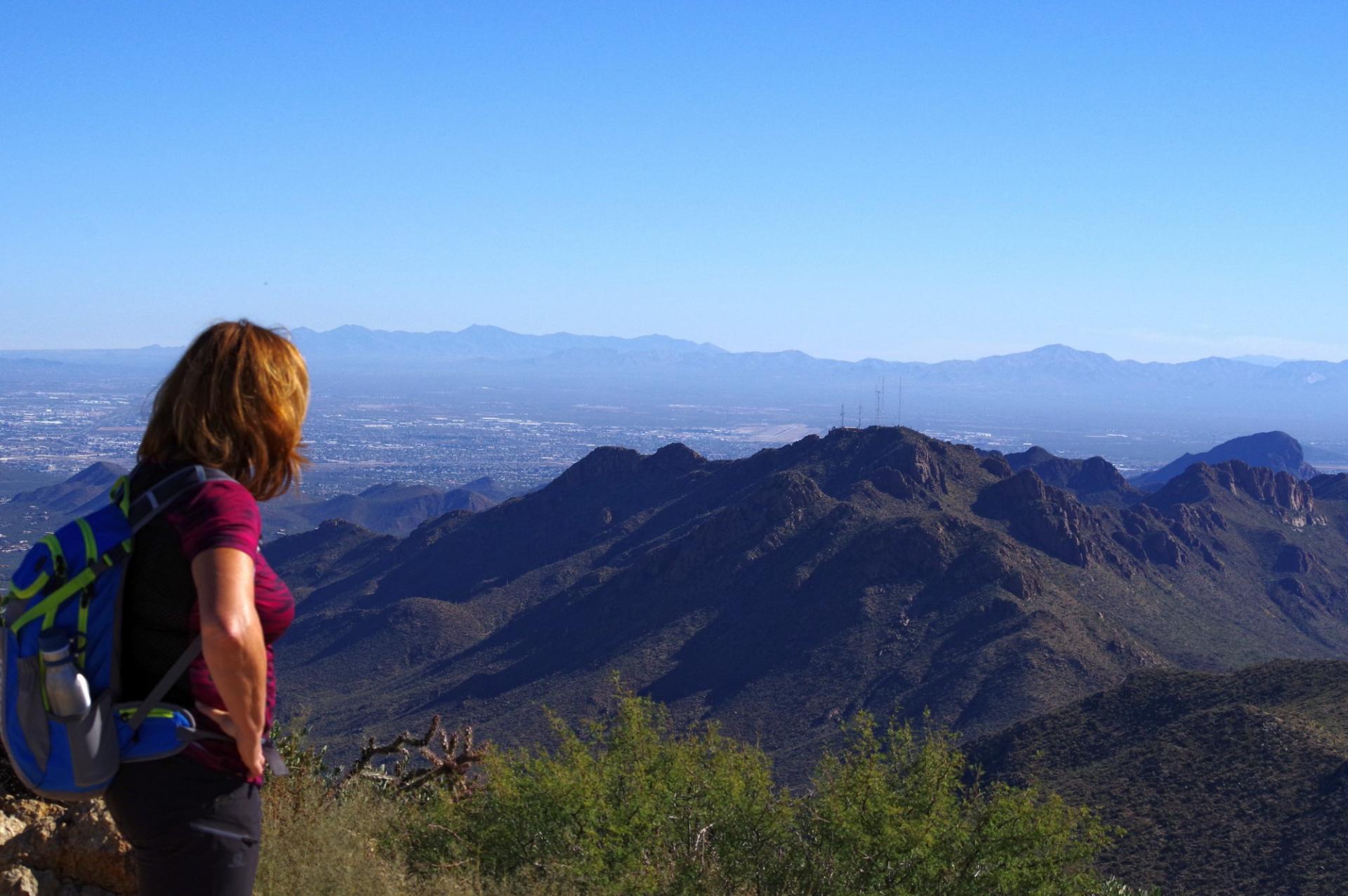 Tucson du haut du mont weason